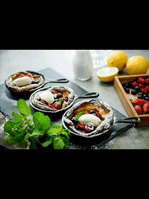 เมนู Berry Fluffy Pancake - เชฟ เป่า