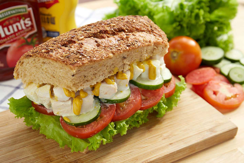 แซนด์วิชสลัดไข่ขาว