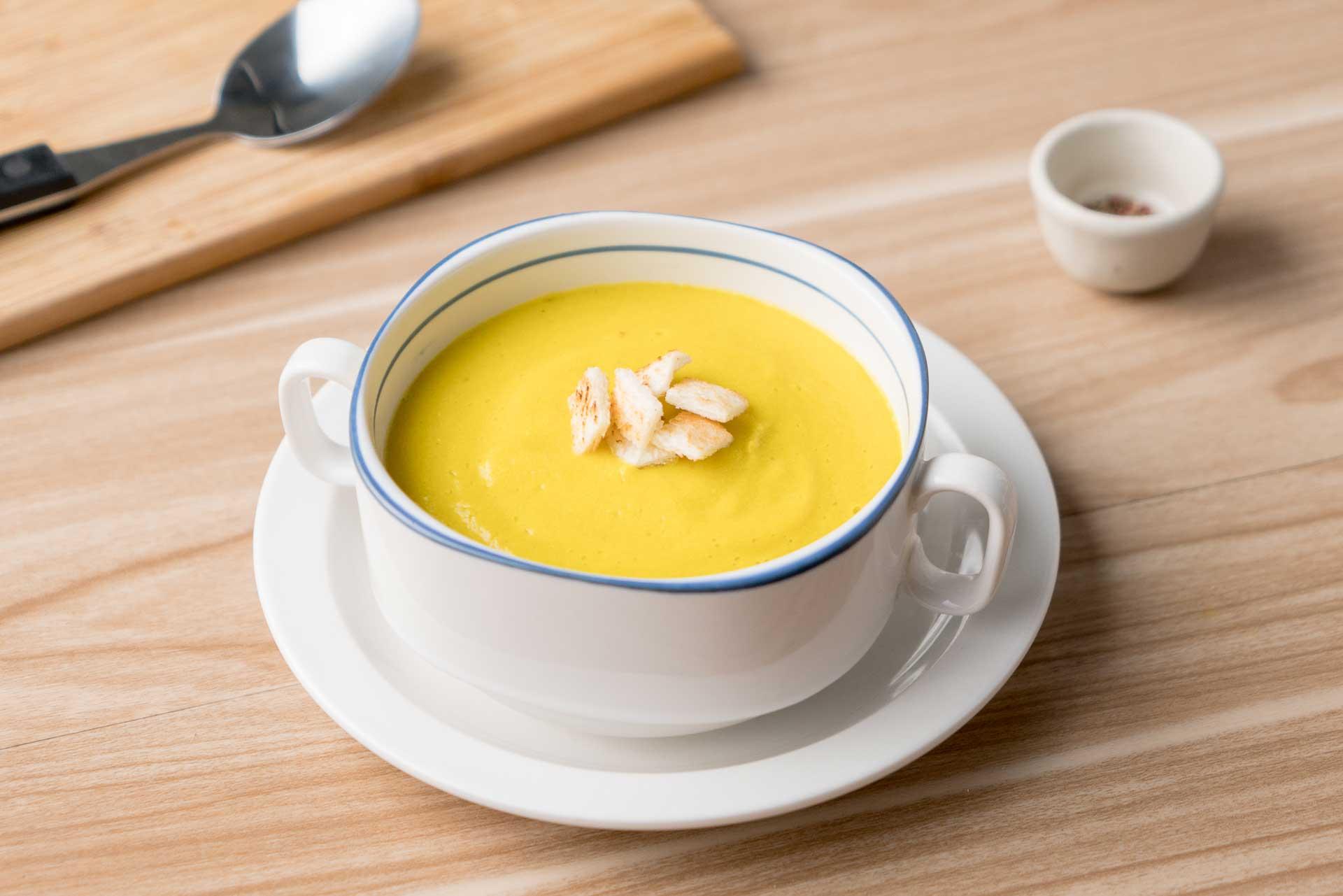 ซุปไข่ขาวฟักทอง