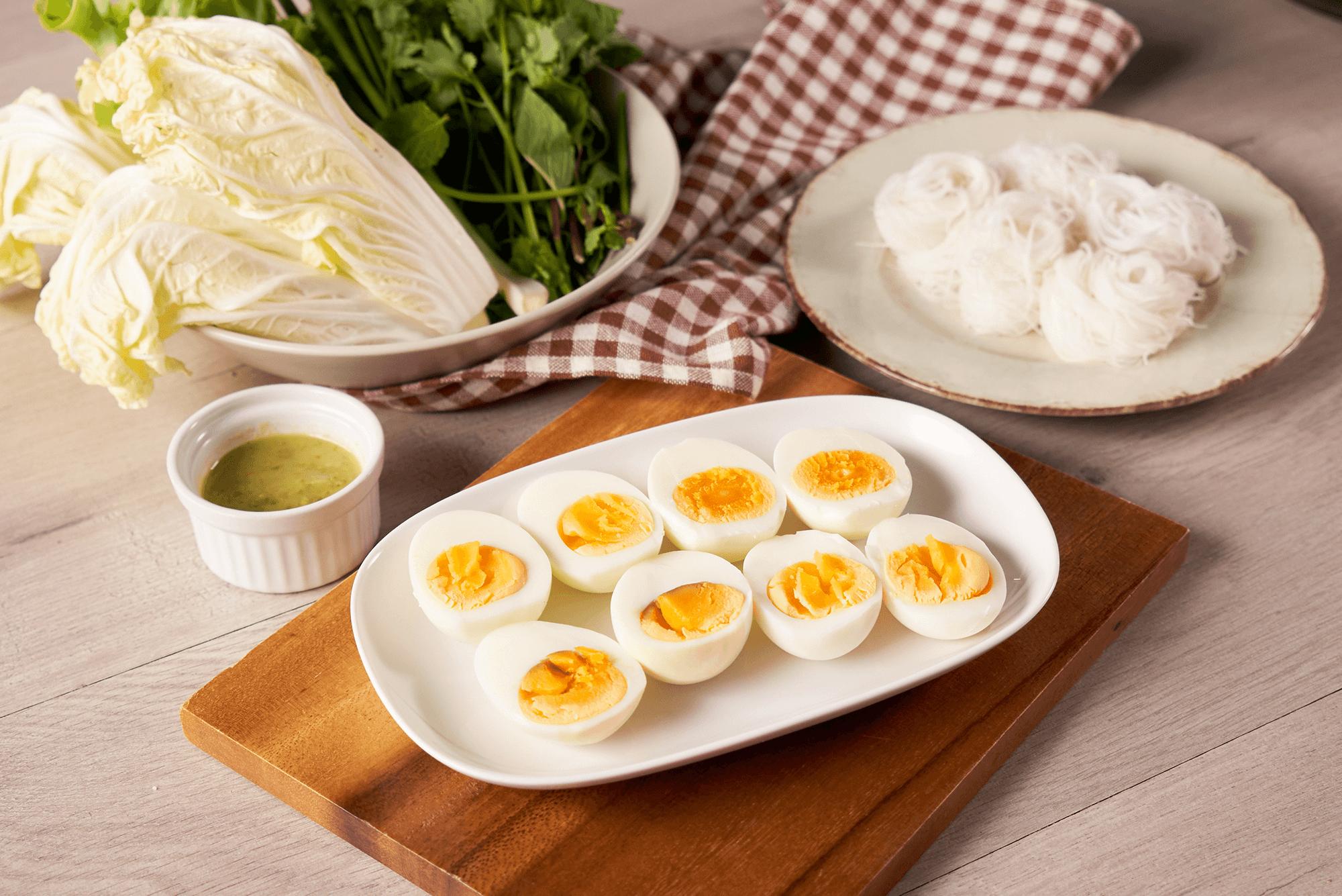 เมี่ยงไข่ต้ม