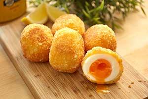 ไข่กรอบชีสลาวา
